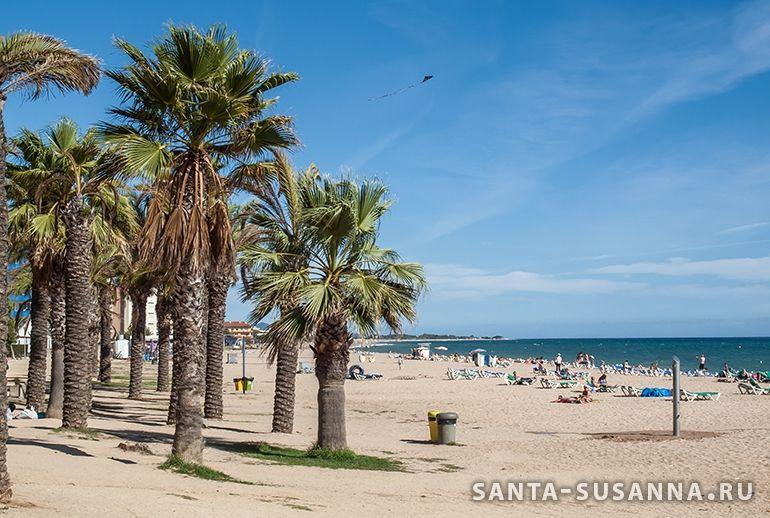 Пляж Санта Сусанны