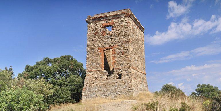 Башня Монтагут в Санта Сусанне